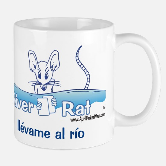 Mug; River Rat (espanol)