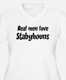 Men have Stabyhouns T-Shirt