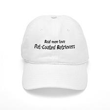 Men have Flat-Coated Retrieve Baseball Cap