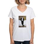 Bar Riche Women's V-Neck T-Shirt
