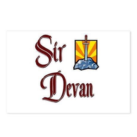 Sir Devan Postcards (Package of 8)