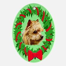 Australian terrier Oval Ornament