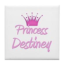 Princess Destiney Tile Coaster