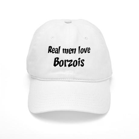 Men have Borzois Cap