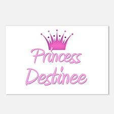 Princess Destinee Postcards (Package of 8)