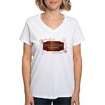 Progressive Tolerance Women's V-Neck T-Shirt
