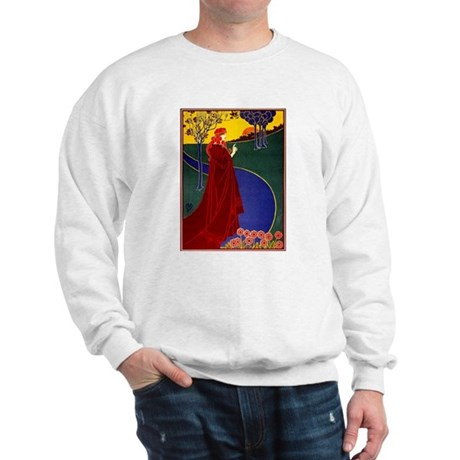 Red Robe Blue River Sweatshirt