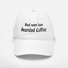 Men have Bearded Collies Baseball Baseball Cap