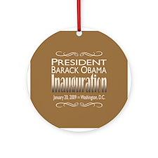 Inauguration Ornament (Round)