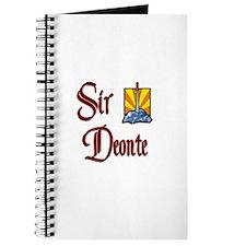 Sir Deonte Journal