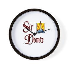 Sir Deonte Wall Clock