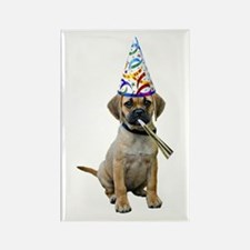 Puggle Party Rectangle Magnet