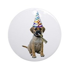 Puggle Party Ornament (Round)
