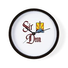Sir Deon Wall Clock