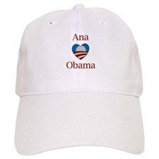 Ana Loves Obama Baseball Cap