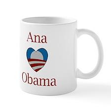 Ana Loves Obama Mug