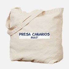 Presa Canarios Rule Tote Bag