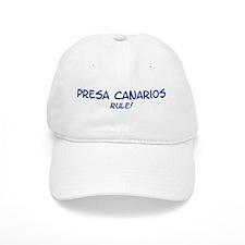 Presa Canarios Rule Baseball Baseball Cap