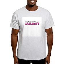 No Longer Jailbait Ash Grey T-Shirt