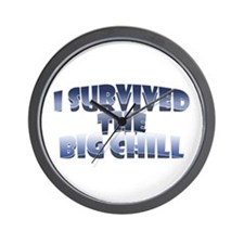 I Survived the Big Chill Wall Clock