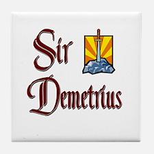 Sir Demetrius Tile Coaster