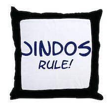 Jindos Rule Throw Pillow