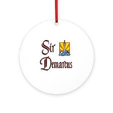 Sir Demarcus Ornament (Round)