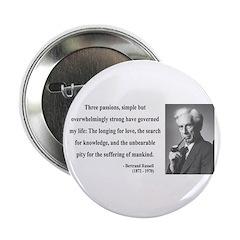 """Bertrand Russell 7 2.25"""" Button (100 pack)"""