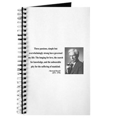 Bertrand Russell 7 Journal