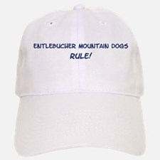 Entlebucher Mountain Dogs Rul Baseball Baseball Cap