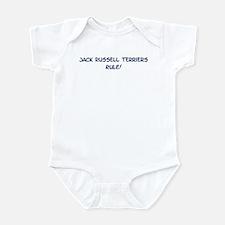 Jack Russell Terriers Rule Infant Bodysuit