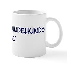 Norwegian Lundehunds Rule Mug
