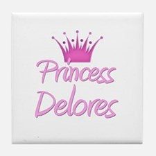 Princess Delores Tile Coaster
