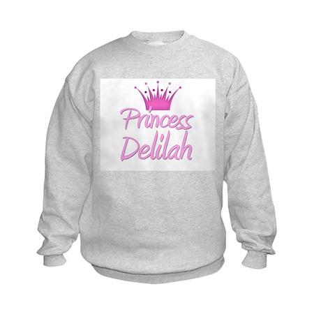 Princess Delilah Kids Sweatshirt