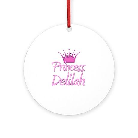 Princess Delilah Ornament (Round)