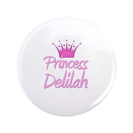 """Princess Delilah 3.5"""" Button"""