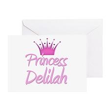 Princess Delilah Greeting Card