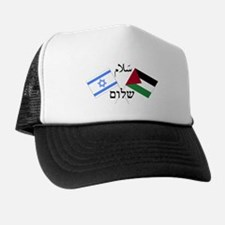 Israel and Palestine Peace Trucker Hat