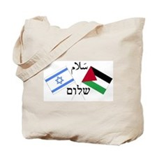 Israel and Palestine Peace Tote Bag