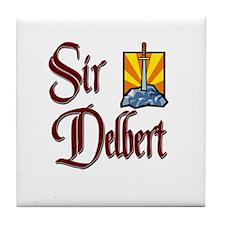 Sir Delbert Tile Coaster