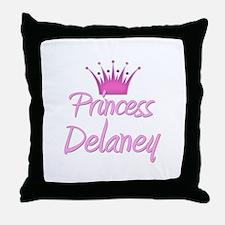 Princess Delaney Throw Pillow