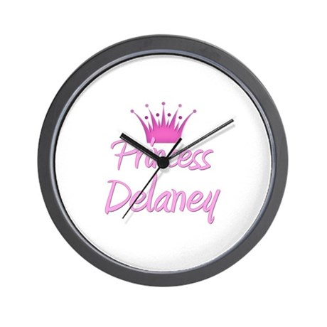 Princess Delaney Wall Clock