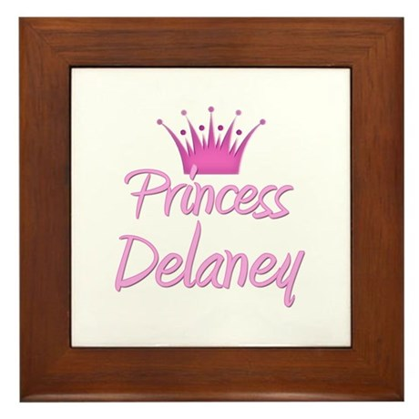 Princess Delaney Framed Tile