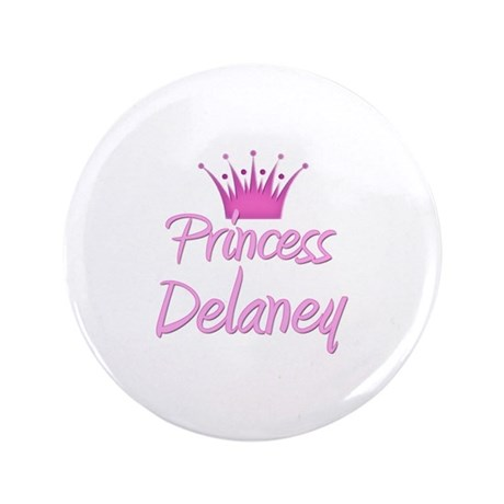 """Princess Delaney 3.5"""" Button"""
