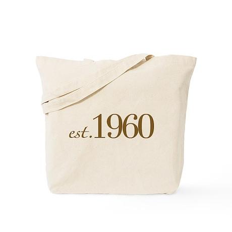 Est. 1960 (Birthday) Tote Bag