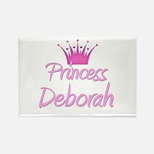 Princess Deborah Rectangle Magnet