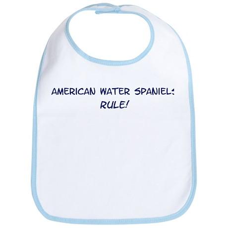 American Water Spaniels Rule Bib