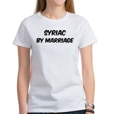 Syriac by marriage Tee