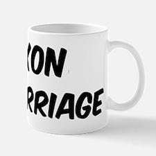 Saxon by marriage Mug