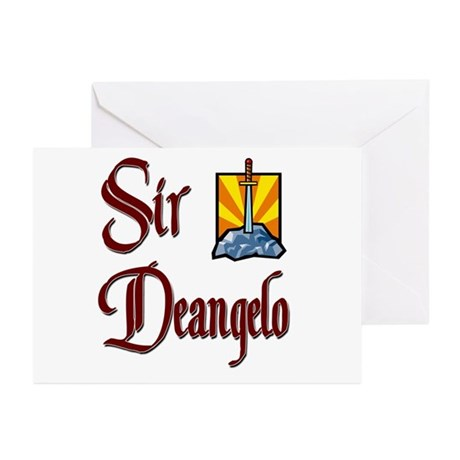 Sir Deangelo Greeting Cards (Pk of 10)